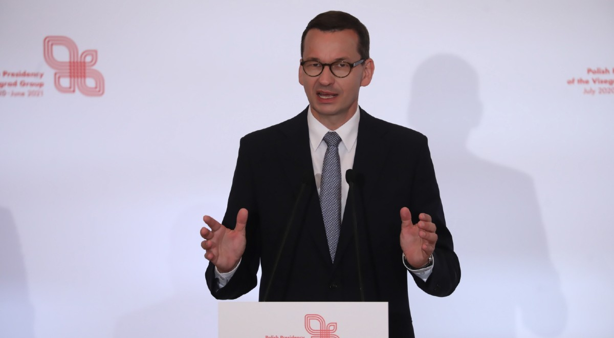 Szczyt V4 w Warszawie. Premier: przy podziale budżetu UE państwa nie mogą  być karane za swoje sukcesy - Wiadomości - polskieradio24.pl