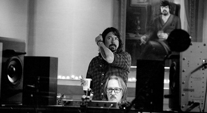 Dave Grohl w studiu