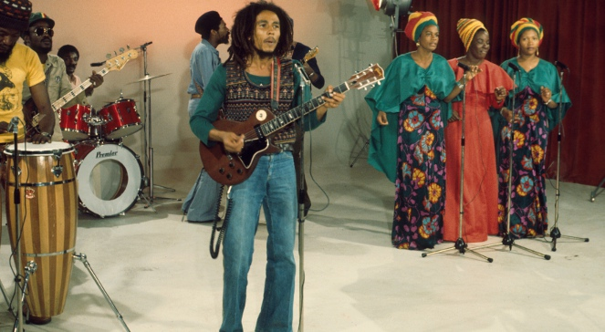 Bob Marley na koncercie w The Seventies