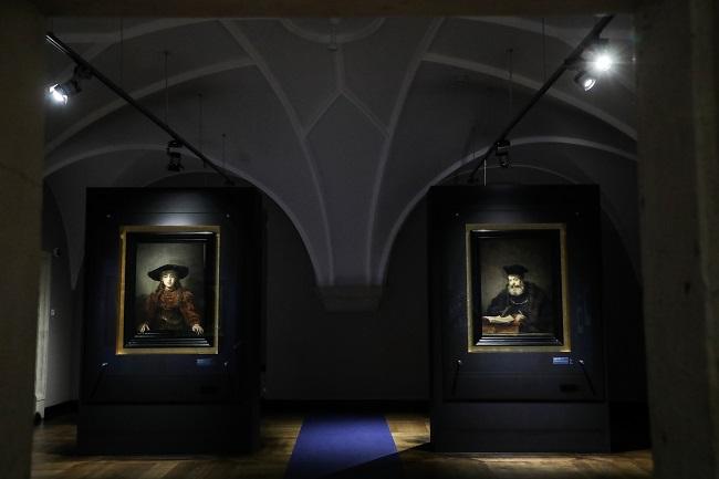 36 x Rembrandt at Warsaws Royal Castle