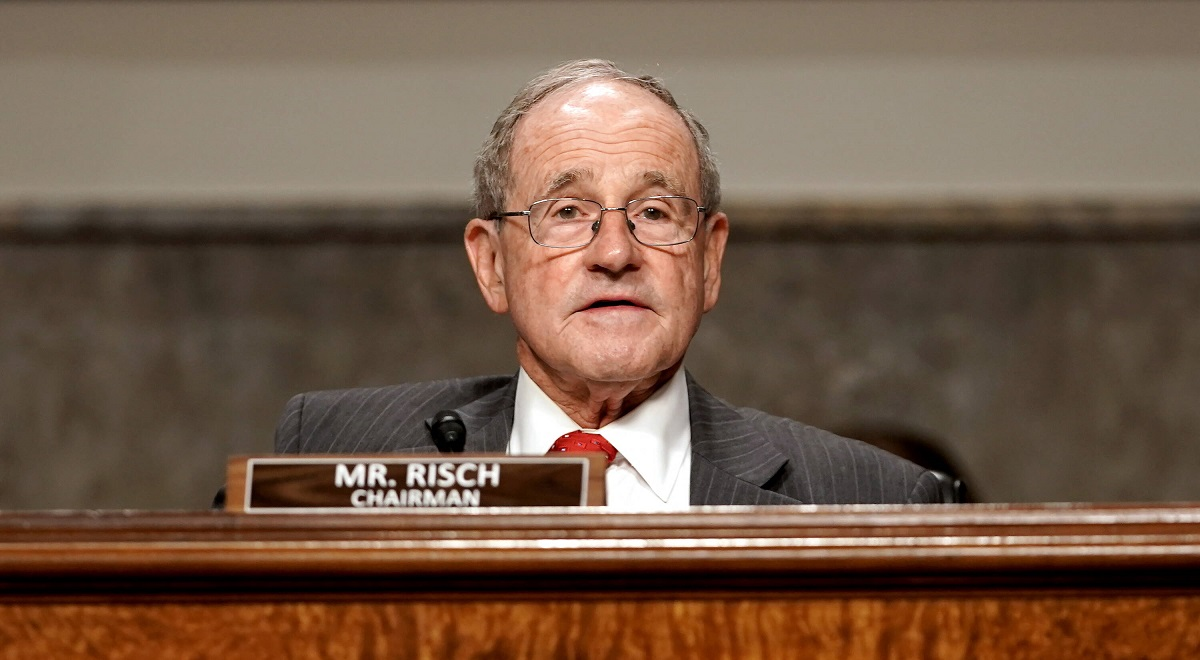 US Republican Senator Jim Risch.