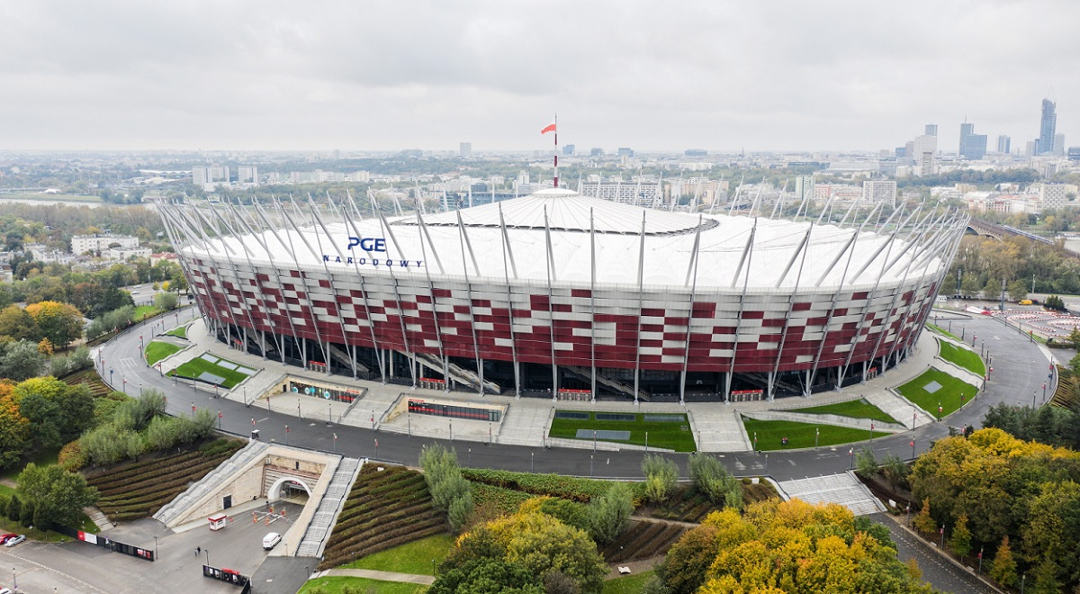 Amid an escalating epidemic, Poland is preparing to open its first field hospital to treat coronavirus patients at the National Stadium in Warsaw, officials confirmed on Monday.