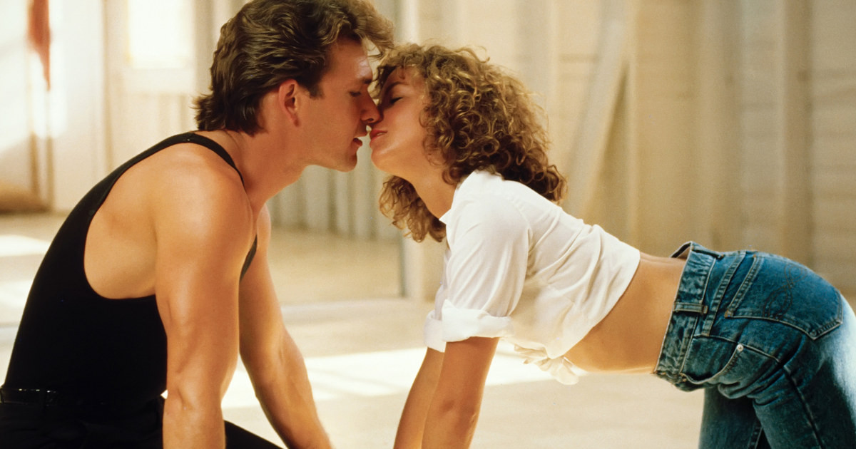 Kadr z filmu Dirty dancing z 1987 r.