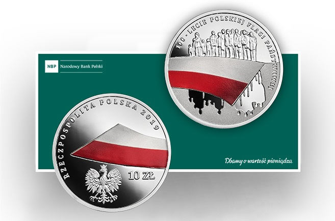 The new commemorative coin issued by the National Bank of Poland