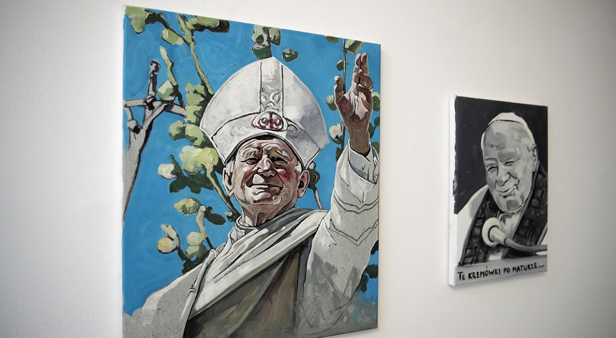 An exhibition about St. Pope John Paul II at the Museum of Contemporary Art in the southern Polish city of Kraków.