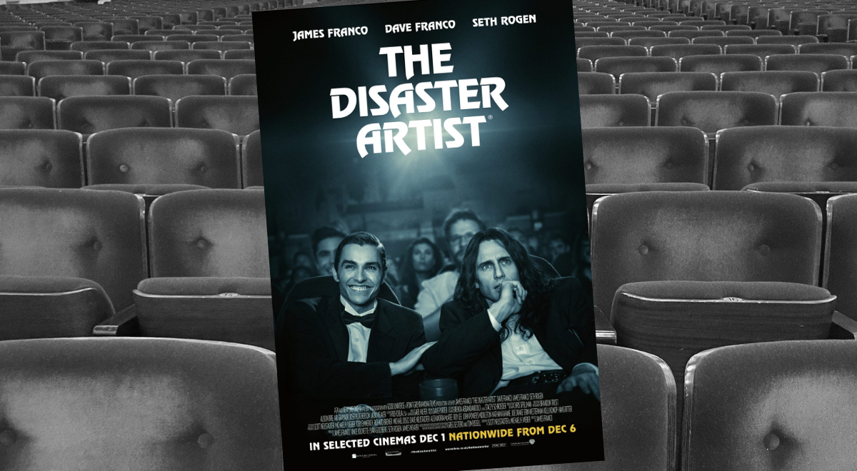 Plakat do filmu Disaster artist