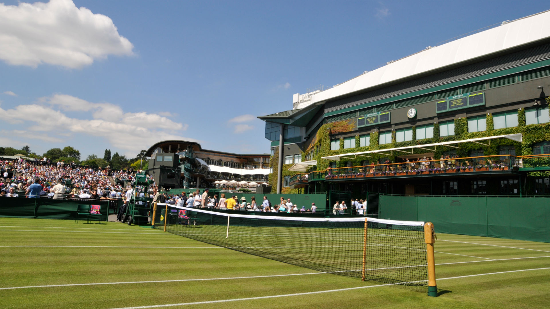 Korty trawiaste All England Lawn Tennis and Croquet Club