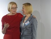 Helen Boaden, Radio Director, BBC and Dr. Barbara Stanisławczyk-Żyła, President of the Board and Editor-In-Chief, Polskie Radio S.A.