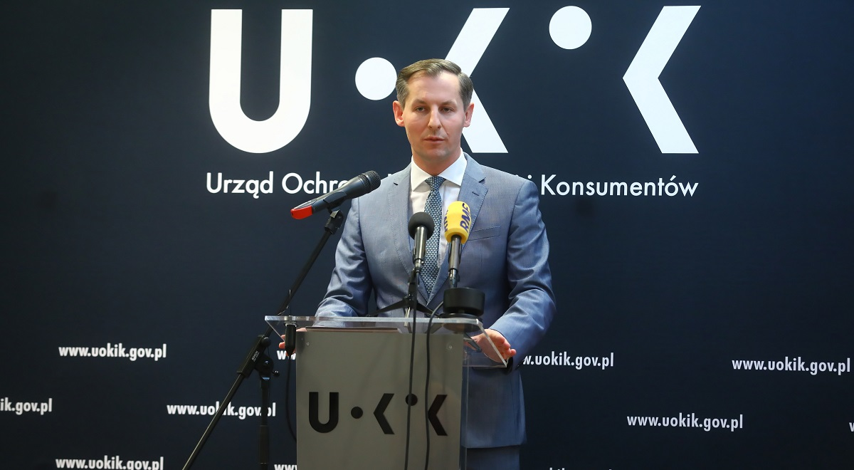 Tomasz Chróstny, head of Polands Office of Competition and Consumer Protection (UOKiK).