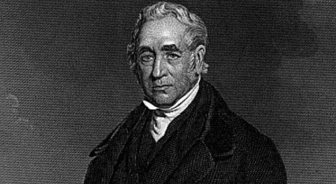 George Stephenson (1781-1848). Autor nieznany. Duyckinick, Evert A. Portrait Gallery of Eminent Men and Women in Europe and America. New York: Johnson, Wilson  Company, 1873. Wikimedia Commonsdomena publiczna