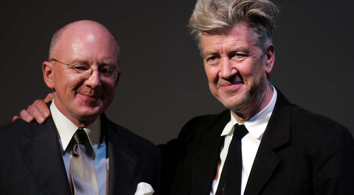 Marek Żebrowski i David Lynch