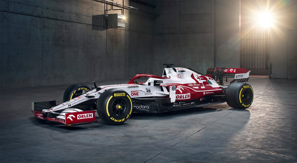 Alfa Romeo Racing ORLEN 2021 - model C41