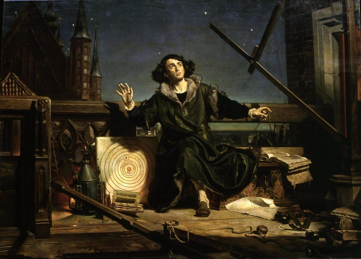 Jan Matejkos Astronomer Copernicus, or Conversations with God