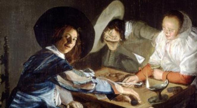 Judith Leyster, A Game of Tric-Trac 1630