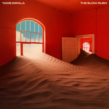 "Okładka płyty Tame Impala ""The Slow Rush"""