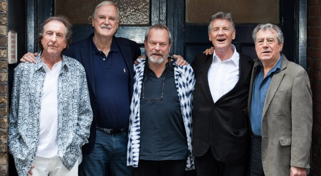 Od lewej: Eric Idle, John Cleese, Terry Gilliam, Michael Palin i Terry Jones