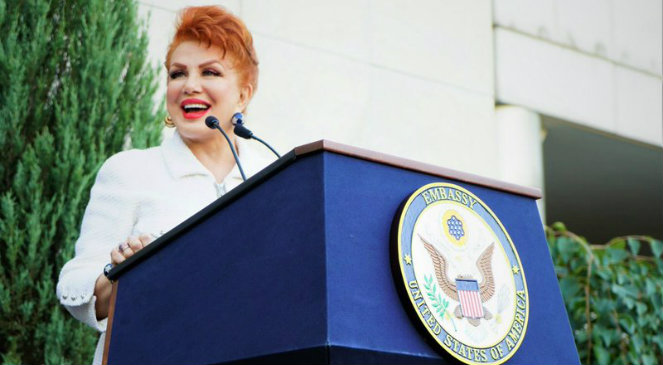 Ambasador USA Georgette Mosbacher
