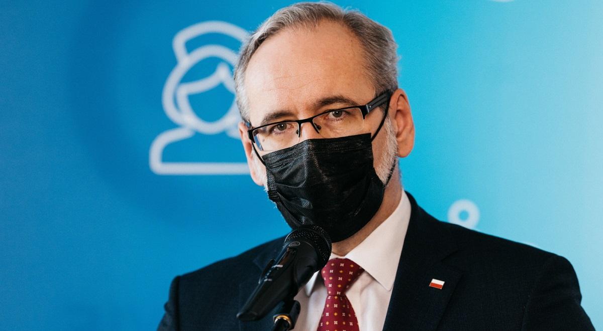 Polish Health Minister Adam Niedzielski.