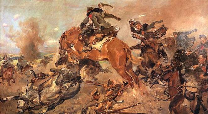 Szarża pod Rokitną na obrazie Wojciecha Kossaka