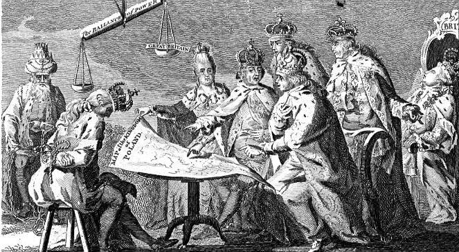 Znalezione obrazy dla zapytania traktat trzech czarnych orłów