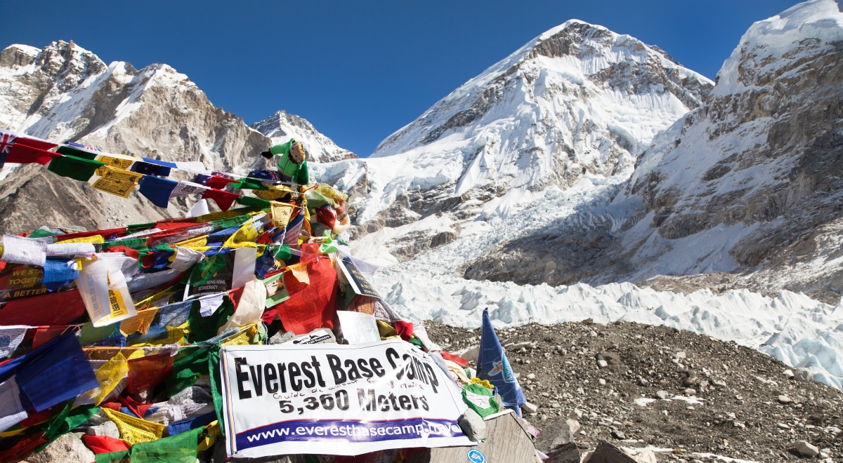 Baza pod Mount Everest
