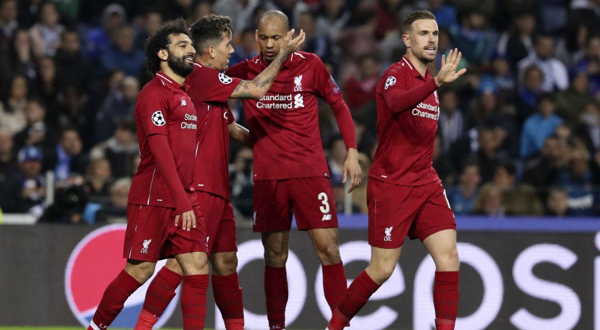 af8f302e8 Piłkarze Liverpoolu podczas ćwierćfinału Ligi Mistrzów przeciwko FC Porto