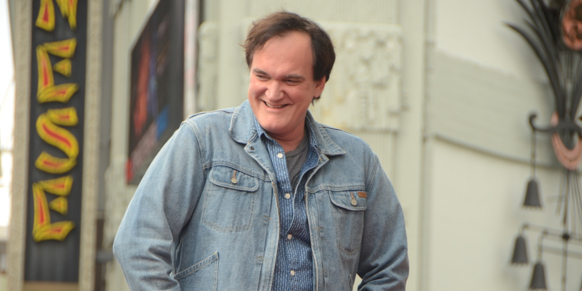 Quentin Tarantino -  Hollywood Blvd, Los Angeles 2015