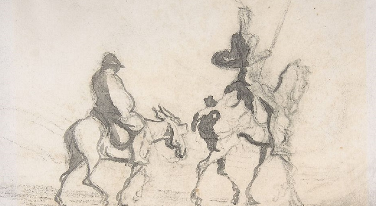 Honoré Daumier, Don Kichot i Sancho Pansa, XIX wiek, The Metropolitan Museum of Art