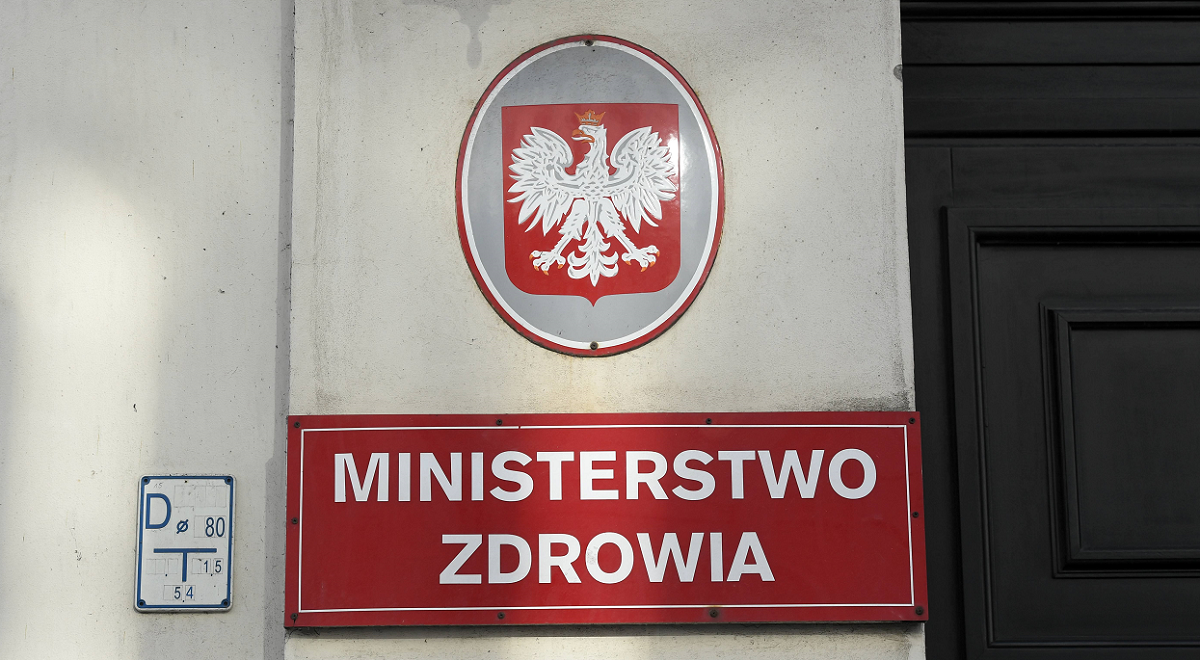 The Warsaw headquarters of the Polish Ministry of Health.