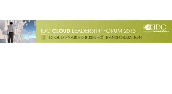 IDC Cloud conference