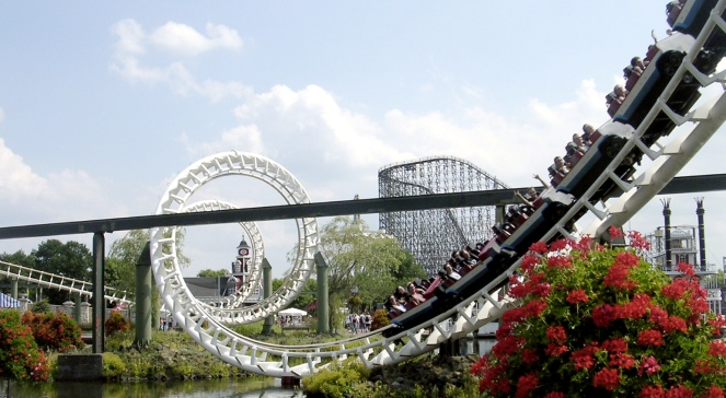 park rozrywki wesołe miasteczko rollercoaster free 663.jpg