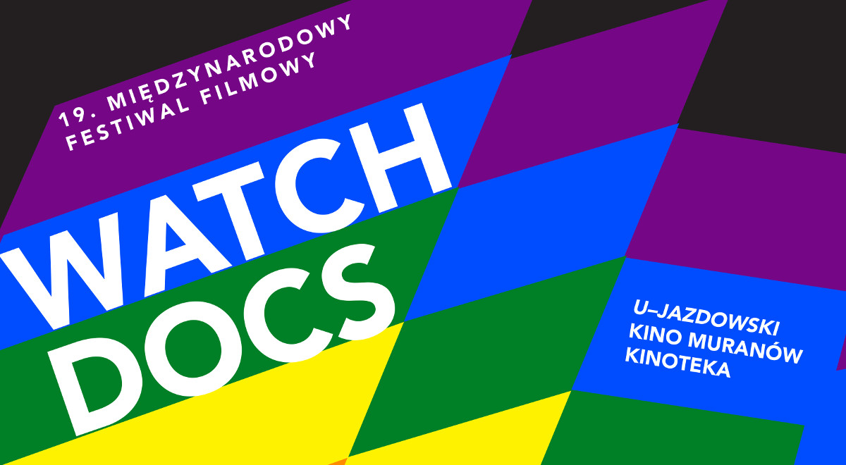 Watch Docs - plakat festiwalu