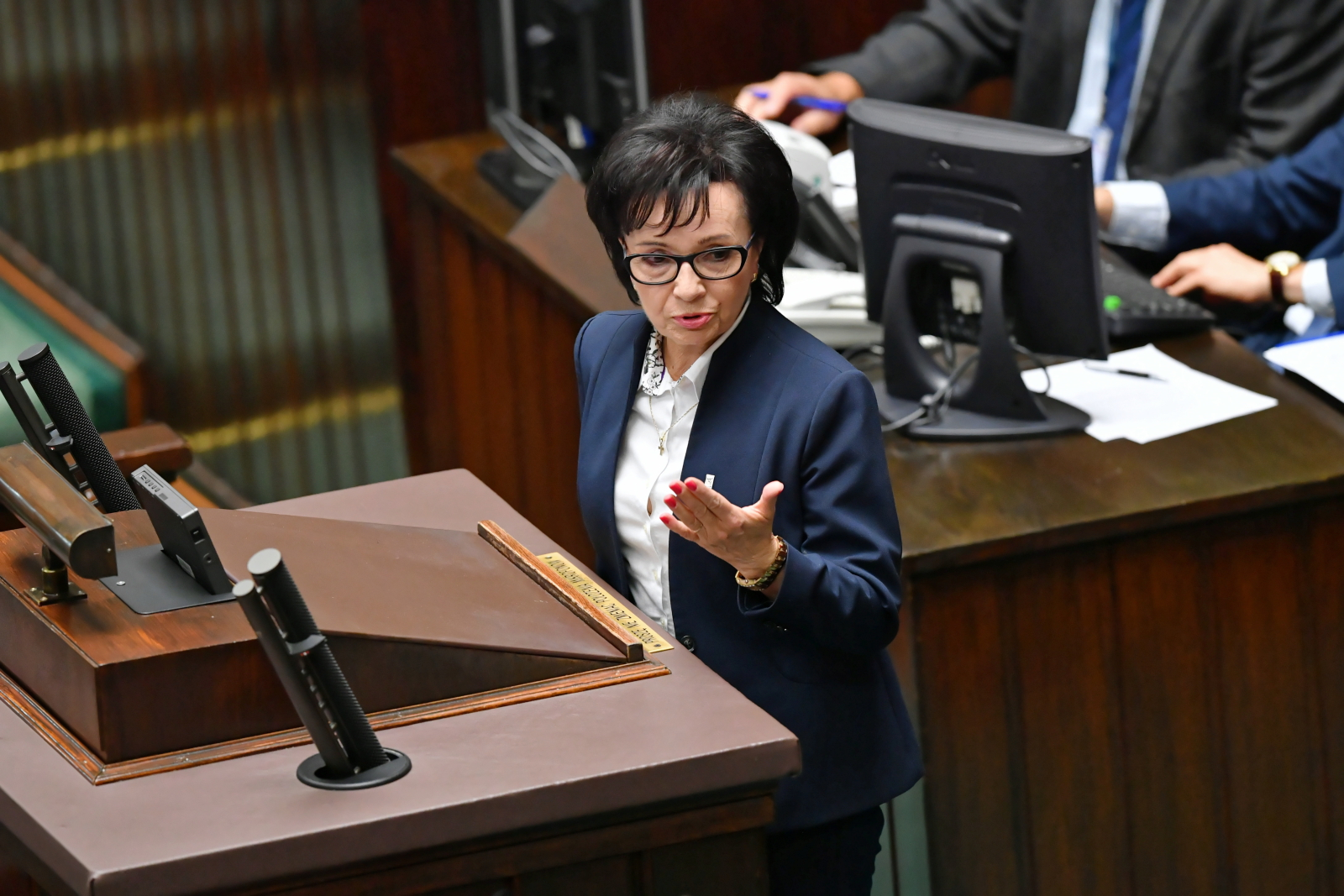 Elżbieta Witek, the new Speaker of parliament