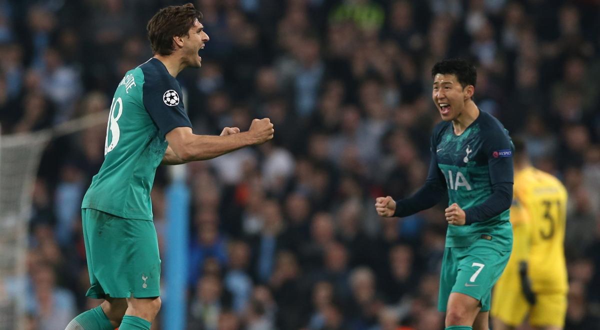 a26823077 Fernando Llorente cieszy się po golu, który dał Tottenhamowi awans do półfinału  Ligi Mistrzów
