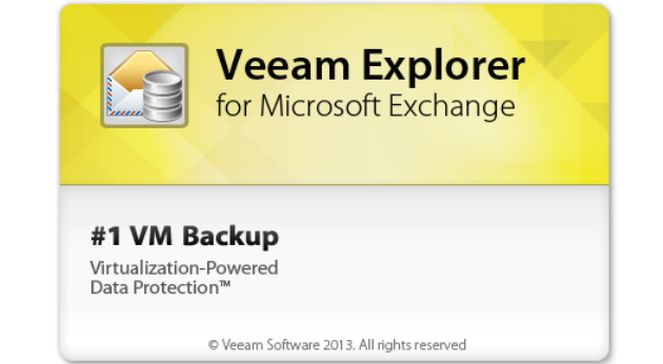 Veeam Explorer