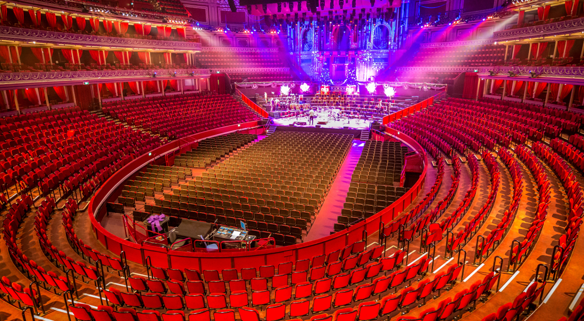 Sala koncertowa w Royal Albert Hall