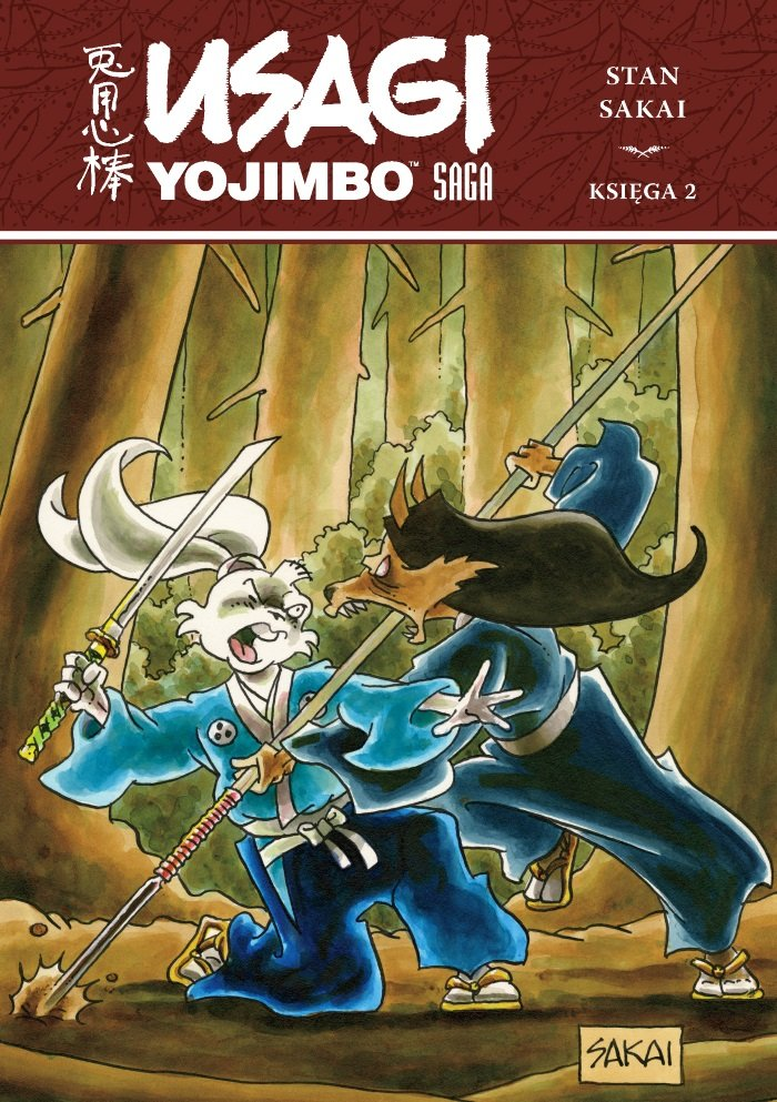 Usagi Yojimbo. Tom 2