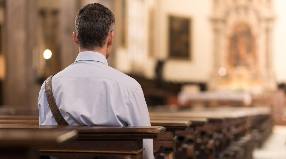 mężczyzna kościół 1200 free