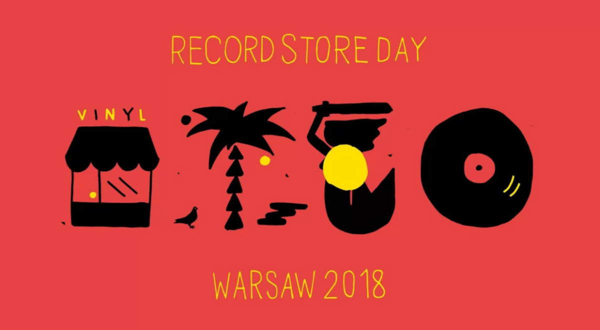 Plakat Records Store Day Warsaw 2018