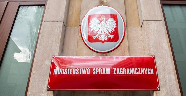 Photo: Polish Ministry of Foreign Affairs