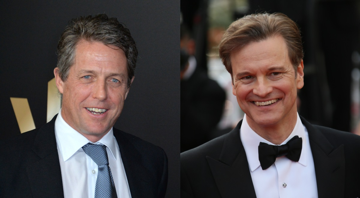 Hugh Grant i Colin Firth
