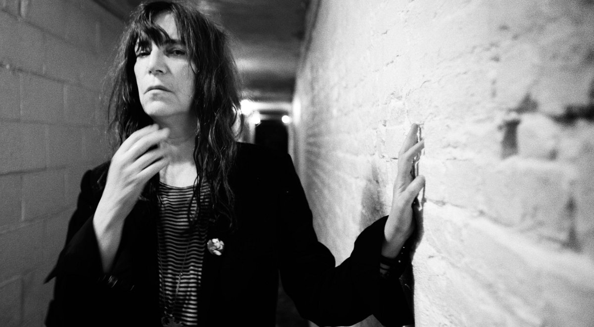 Patti Smith w Greenwich Village - czerwiec 2010 rok