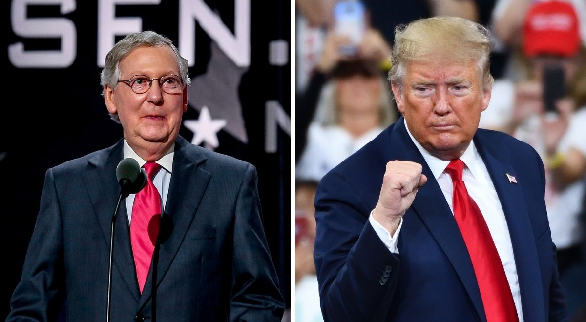 Mitch McConnell i Donald Trump