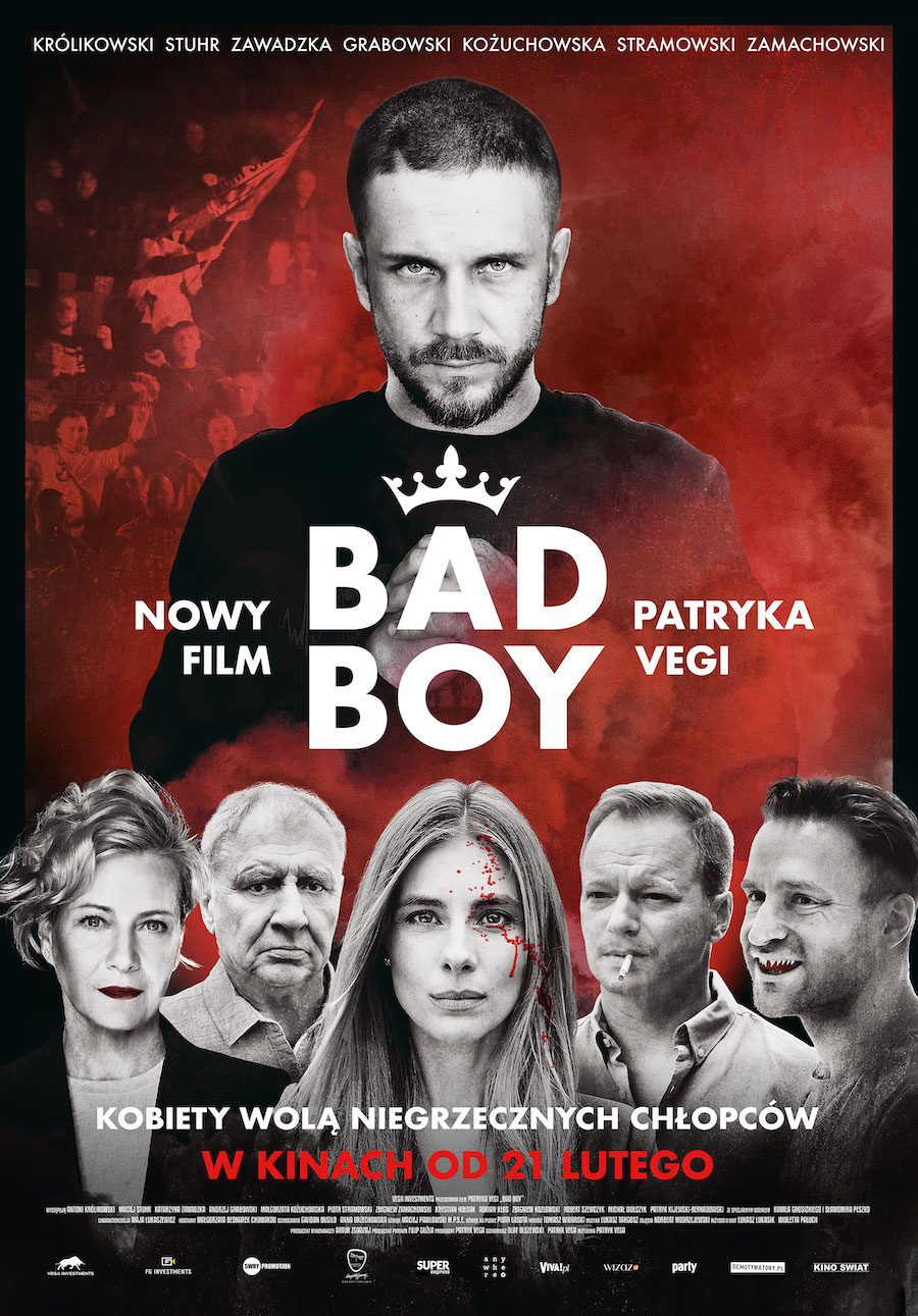 """Bad Boy"" film Partyka Vegi"