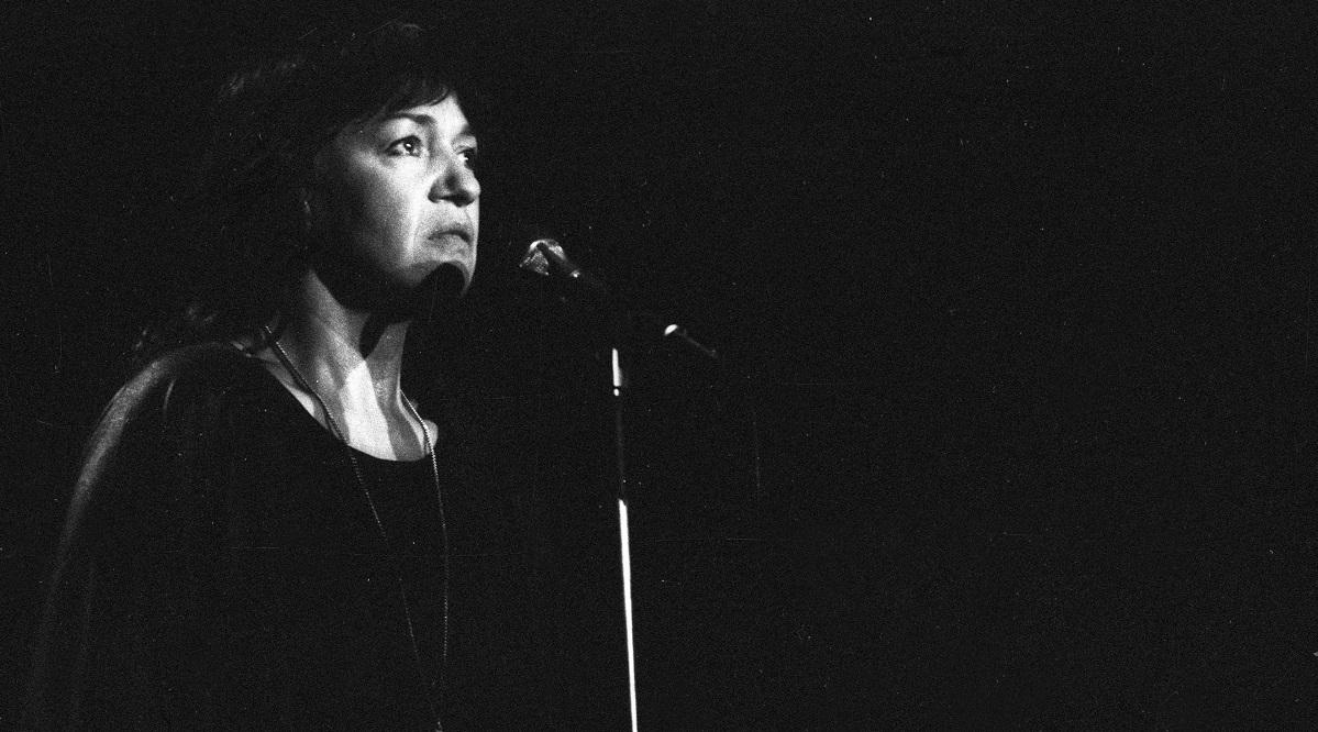 Ewa Demarczyk in 1986.