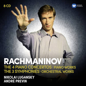 Rachmaninov: The Four Piano Concertos, Piano Works, Three Symphonies and Orchestral Works.