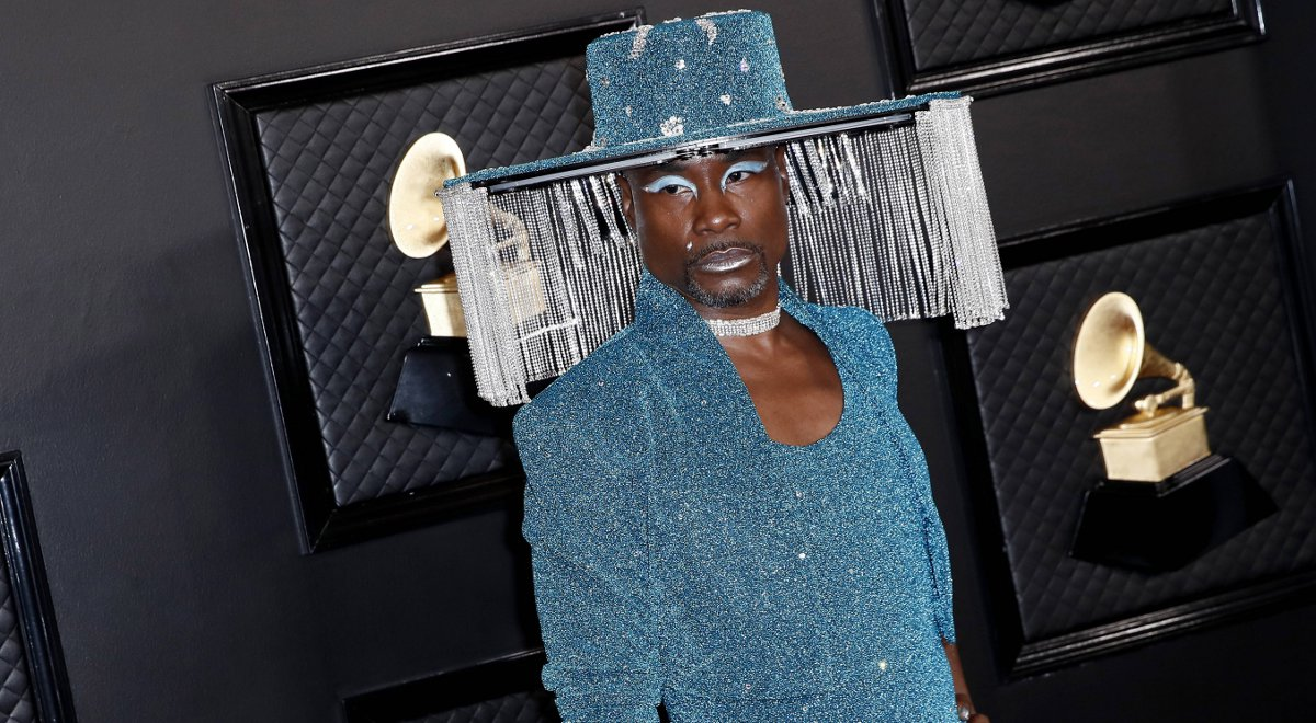 Aktor Billy Porter na ceremonii Grammy Awards - 2020 rok