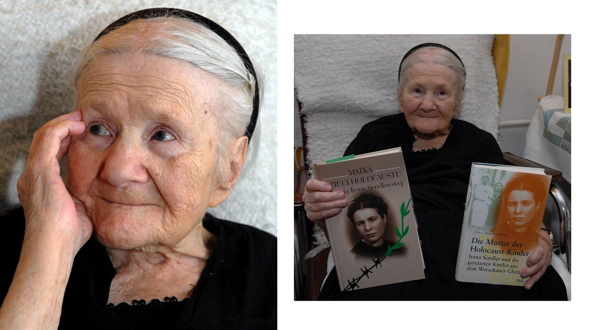 Irena Sendler, pictured in 2007.