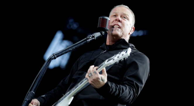 James Hetfield, frontman grupy Metallica