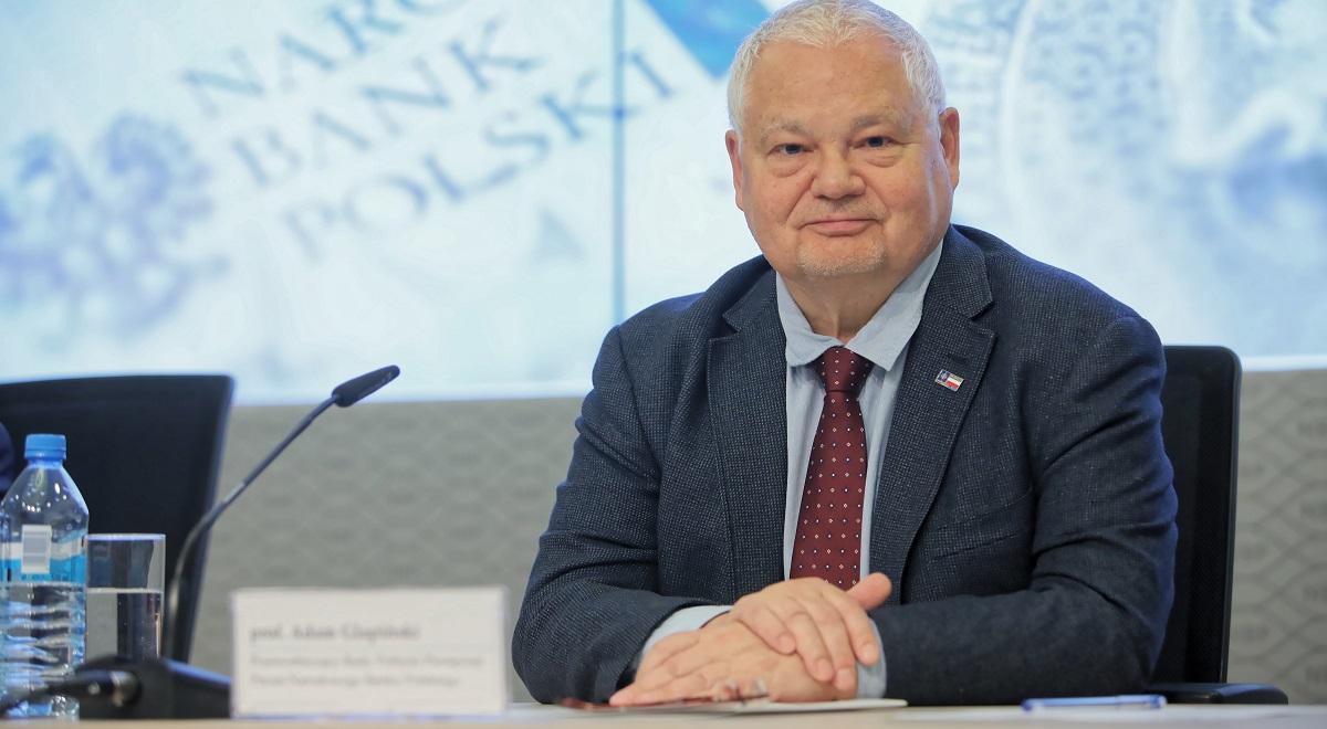 Adam Glapiński, governor of the National Bank of Poland (NBP).